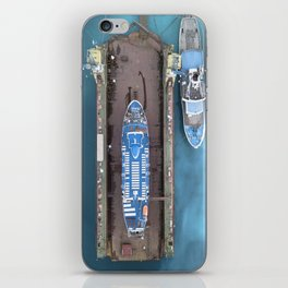 not every ships are in the water iPhone Skin