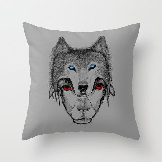 Outsider's Revenge v2 Throw Pillow