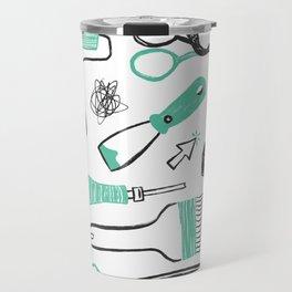 Art tools Travel Mug
