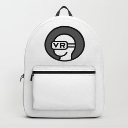 VR Virtual Reality Icon Backpack