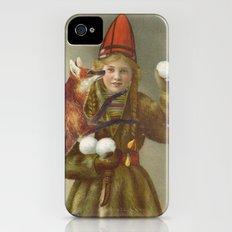 Red fox return Slim Case iPhone (4, 4s)