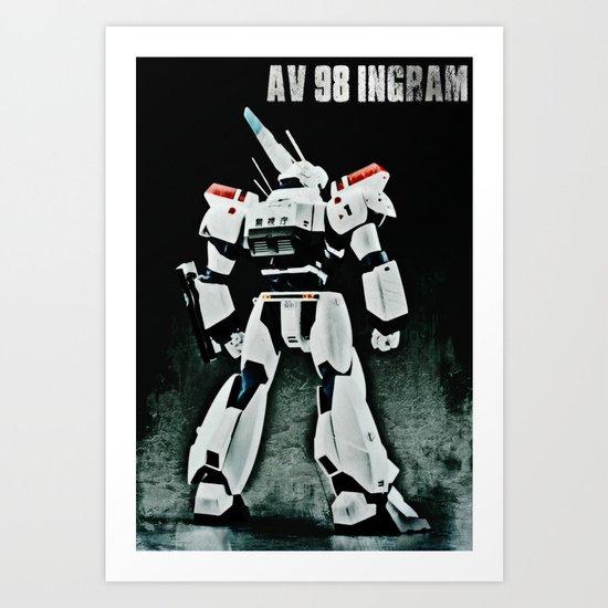 AV 98 Ingram Art Print