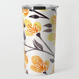 Cherry Blossoms – Yellow Palette Travel Mug