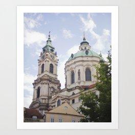 Church in Prague Art Print