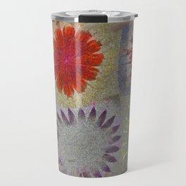 Uncaptivate Stripped Flower  ID:16165-034048-23510 Travel Mug