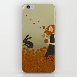 Poppy Field iPhone Skin