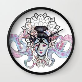 Space Goddess Wall Clock