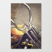moto Canvas Prints featuring Moto by CMcDonald
