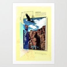 Chiricahua Range Art Print