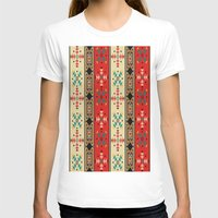 blanket T-shirts featuring Sioux Blanket by Robin Curtiss