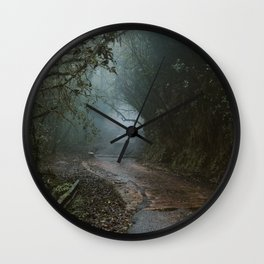 THE ROAD I MUST TRAVEL Wall Clock