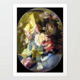 Rose is a rose is a rose is a rose Art Print