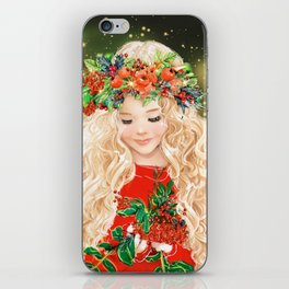 Little Merry iPhone Skin