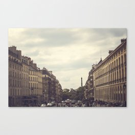Paris. Canvas Print
