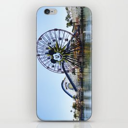 Paradise Pier - Mickey Ferris Wheel (Daytime no.2) iPhone Skin