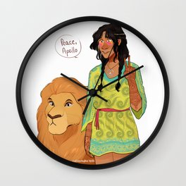 Rhea - Spread the Love Wall Clock
