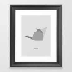 Maus 2.0 Framed Art Print