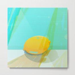 Colorful Lemon Metal Print
