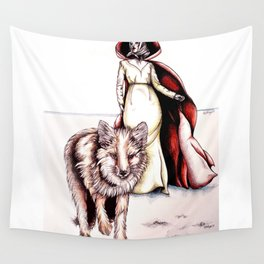 Follow Me, Said the Fox Wall Tapestry