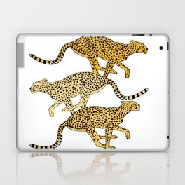 Go Cheetahs Go Pen and Ink by Lorloves Design Laptop & iPad Skin