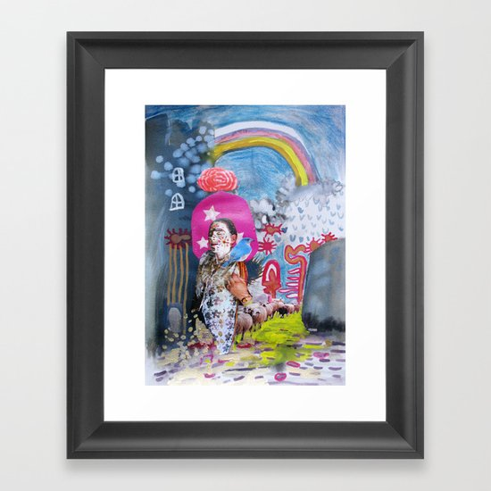 Bulgarian Wish  Framed Art Print