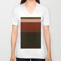 freddy krueger V-neck T-shirts featuring Freddy by Jake Bjeldanes