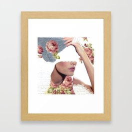 I Am Undone Tonight Framed Art Print