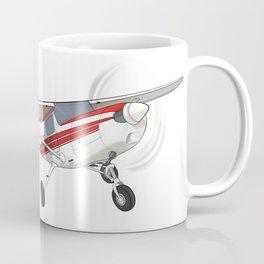 Red Cessna 152 Coffee Mug