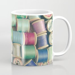 Cotton Reels Coffee Mug