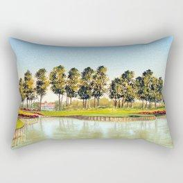 Sawgrass TPC Golf Course 17th Hole Rectangular Pillow