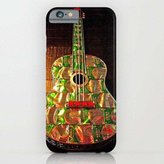 Heineken guitar iPhone & iPod Case