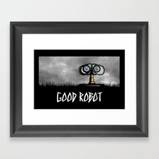 Good Robot Framed Art Print