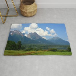 Kathlyn Lake and Hudson Bay Mountain Rug