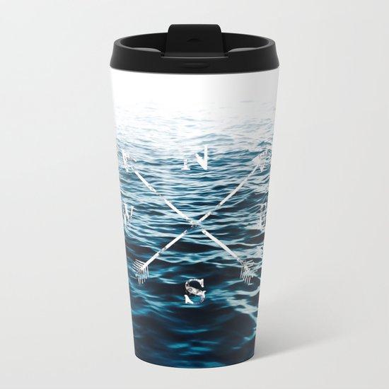 Winds of the Sea Metal Travel Mug