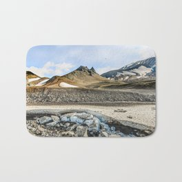 """Extrusion """"Camel"""" at the foot of the Avachinsky volcano Bath Mat"""