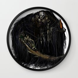 Gravelord Nito - Dark Souls Wall Clock