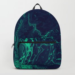 Ebb & Flow - An Abstract Piece Backpack