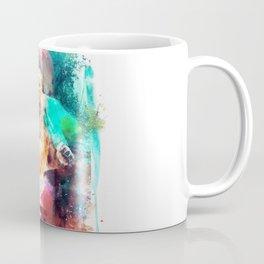 Conor McGregor Abstract Art Print Coffee Mug