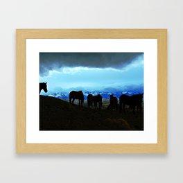 sierra nevada Framed Art Print