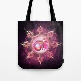 Chaos Icon - Slaanesh Tote Bag