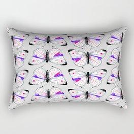 simple butterfly pattern Rectangular Pillow