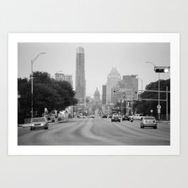 South Congress Art Print