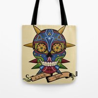 majora Tote Bags featuring La Santa Majora by Faniseto