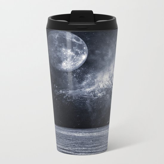 Fading Mountain Metal Travel Mug