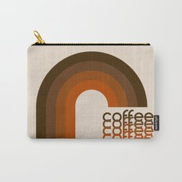 Cocoa Coffee Rainbow Carry-All Pouch