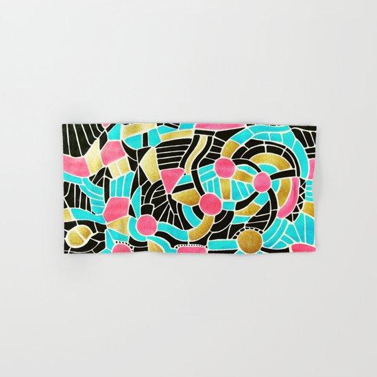- summer jump - Hand & Bath Towel