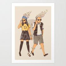 Instant Society Art Print
