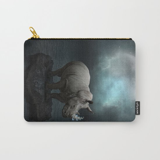 Power Is No Blessing In Itself v.1 (Protect the Rhino)  Carry-All Pouch