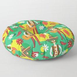 Mexican man Floor Pillow