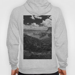 Dramatic Cloudy Mountain View at Lost Mine Trail, Big Bend Hoody